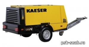 Передвижной компрессор с дизельным приводом KAESER M 80