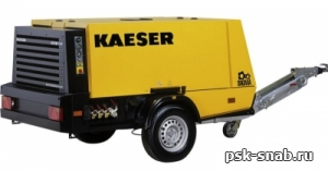 Передвижной компрессор со встроенным электрогенератором KAESER М 100 G 13 kVA