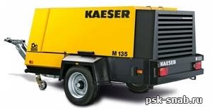 Передвижной компрессор со встроенным электрогенератором KAESER М 135 G