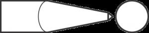 Пика для пневматического инструмента, цилиндрический хвостовик с овальным фланцем 18191001