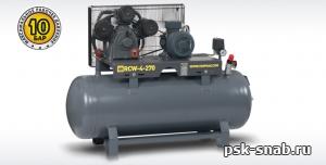 Поршневой компрессор RECOM RCW-4-100