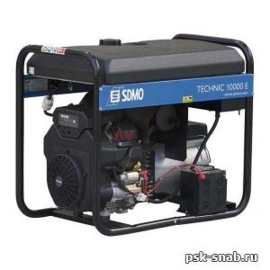 Портативный дизель-генератор SDMO с электростартером Diesel 10000E XL C AUTO(9 кВт)