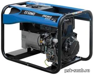 Портативный дизель-генератор SDMO с электростартером Diesel 6500 TE XL C
