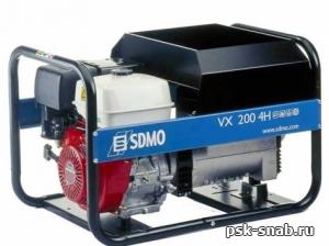 Сварочный генератор SDMO VX 200/4 HC (VX 200/4 HS)