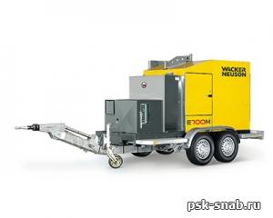 Установка для прогрева грунта и бетона Wacker Neuson E700M