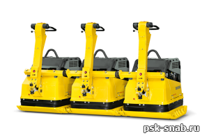 Виброплита с дистанционным управлением DPU 100-70 (набор из двух DPU 100-70 / набор из трех DPU 100-70)