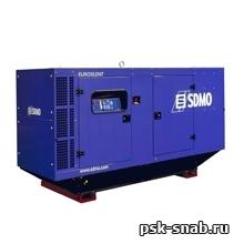 Стационарная дизельная электростанция SDMO J130K-IV в шумозащитном кожухе модели 226