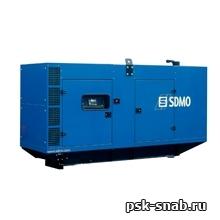 Стационарная дизельная электростанция SDMO V275K-IV в шумозащитном кожухе модели 227