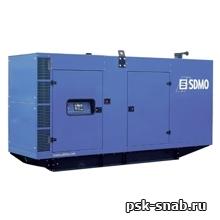 Стационарная дизельная электростанция SDMO V330K-IV в шумозащитном кожухе модели 228