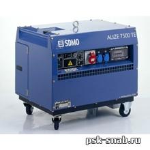 Бензиновая электростанция SDMO в шумозащитном кожухе с электростартером ALIZE 7500 TE (5,6 кВт)