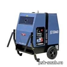Трехфазная дизельная электростанция SDMO в шумозащитном кожухе с электростартером SD 6000 TE (5.2 кВт)