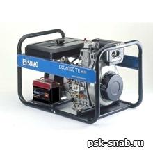 Трехфазный дизель-генератор SDMO электростартером DX 6000TE XL C AUTO (5,2 кВт)
