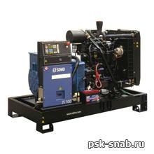 Трехфазный дизель генератор SDMO J 110K (110 кВА)