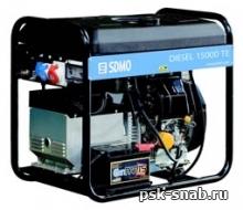 Трехфазный дизель-генератор SDMO с электростартером Diesel 15000TE XL C (9 кВт)