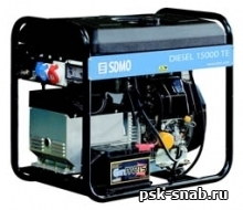 Трехфазный дизель-генератор SDMO с электростартером Diesel 15000TE XL C AUTO (9 кВт)