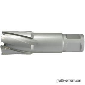 Твердосплавные корончатые сверла с хвостовиком Weldon 19 мм