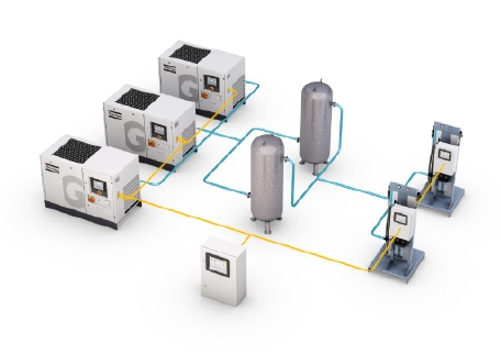 Атлас Копко представляет новую установку подготовки медицинского воздуха, соответствующую последним медицинским стандартам