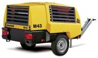 Новый передвижной компрессор Kaeser Mobilair M43 со звукоизоляционным кожухом из ПВД