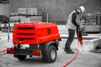 Chicago Pneumatic выпускает серию максимально прочных передвижных компрессоров